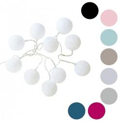 Guirlande LED 10 boules
