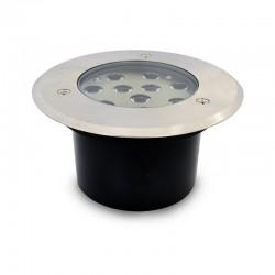Spot 230V encastrable extérieur LED COB 10W Rond