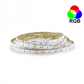Ruban LED 14.4 Watts /m - RGB - Rouleau 5M 24V