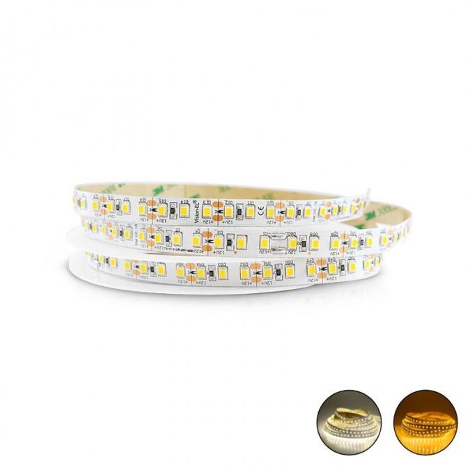 Ruban LED 12 Watts/m - 120 LED/m Blanc - Rouleau 5M 24V