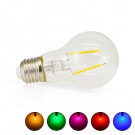 Ampoule LED E27 2W COB Filament Bulb Couleur